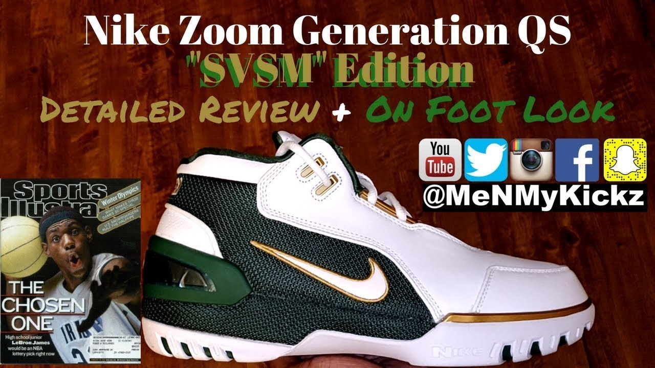 388566b746c3 Nike Zoom Generation QS