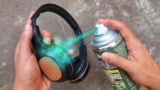 Customizing Headphones DIY (SATISFYING!)🎧