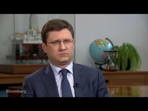 Russian Energy Minister Novak on U.K. Tensions