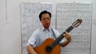 Bài Thánh ca buồn - Bài 15: nhip 6/8 - điệu Slow rock - Đức Giang music