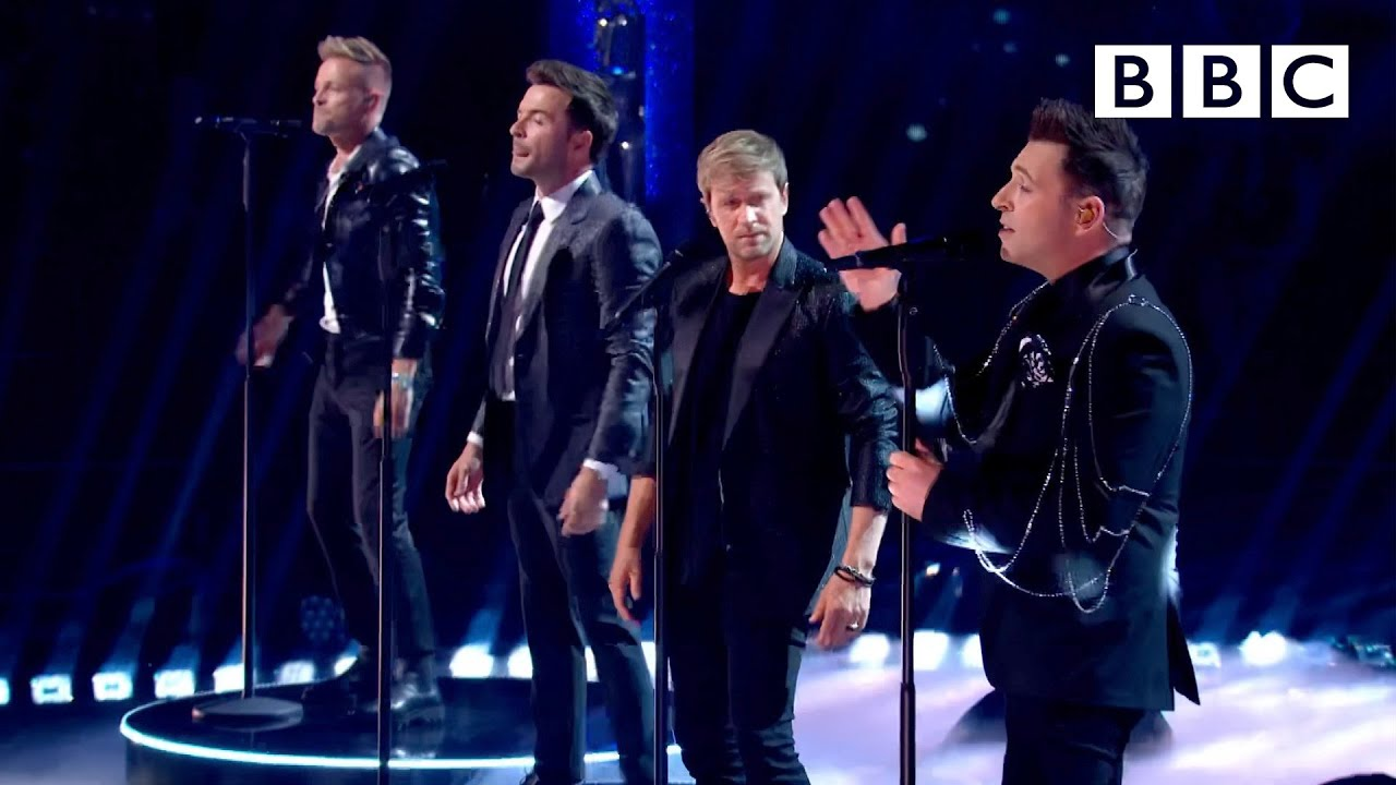 Westlife perform 'Starlight' ⭐️ Strictly Come Dancing BBC - BBC