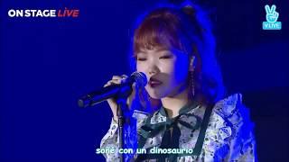 Gambar cover AKMU - DINOSAUR (Sub Español) LIVE | ON STAGE - ENCORE-