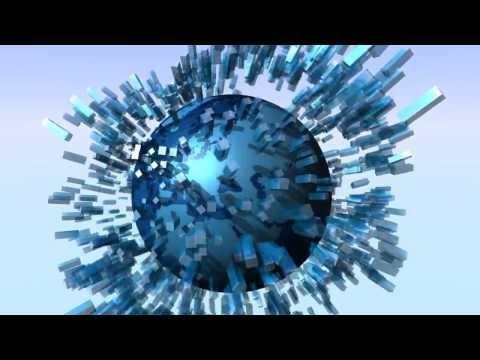 World 3D Globe animation in LightWave 11