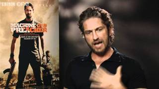 Gerard Butler on Sudan - Film 2011 With Claudia Winkleman - BBC One