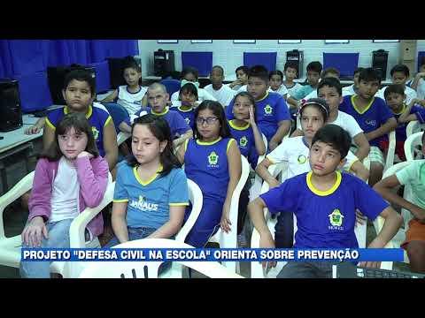 Projeto 'Defesa Civil na Escola' orienta crianças sobre prevenção