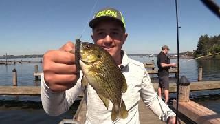 Риболовля громадські пірси на озері Вашингтон