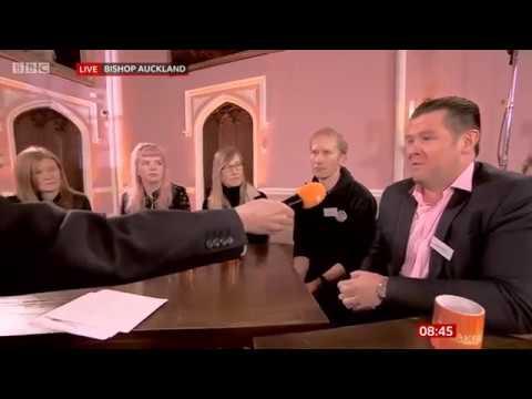 BBC Breakfast - Bishop Auckland 12 11 19
