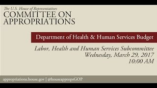 Hearing: Department of Health and Human Services Budget (EventID=105779)