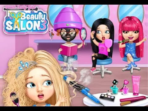 Sweet Baby Girl Beauty Salon 3 / Tutotoons Games / Hair, Nails, Spa / Android Gameplay Video