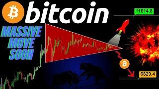 MASSIVE BITCOIN MOVE SOON! PUMP or DUMP!!? Crypto TA price prediction, analysis, news, trading
