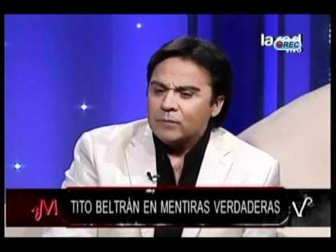 """Tito Beltrán y sus inicios: """"Tenía 2 años cuando una señora me pagaba para que cantara"""""""
