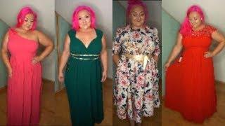 MEGA HAUL plný šatů | XXXL Try-on haul | ESPRLIA CURVY | SHEIN | ROSEGAL | EVER PRETTY