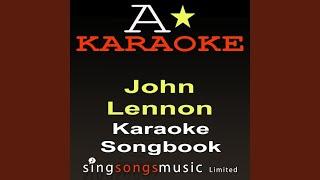 Instant Karma We All Shine On (Originally Performed By John Lennon) (Karaoke Version)