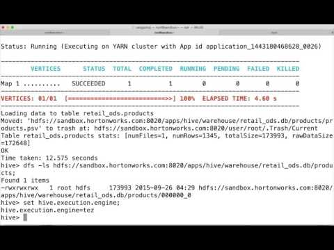 Data Warehouse using Hadoop eco system - 09 03 Transformation and Load - Hive Insert Theory