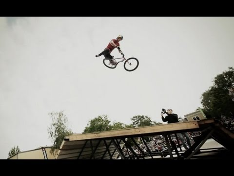 BMX at the Ghetto Games in Latvia - Red Bull BMX athletes take over Ventspils