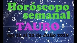 Horóscopo Semanal TAURO por Anna Azuara  del 16 al 22 de Julio 2018 thumbnail