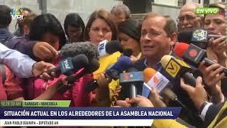 Venezuela - Situación en las inmediaciones del Parlamento Federal Legislativo - VPItv