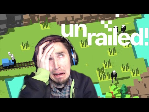 THIS VIDEO IS OFF THE TRACKS!! Unrailed #1 |