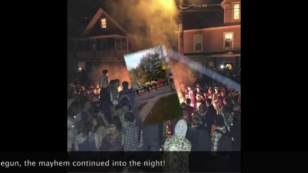 Pumpkin Fest 2014 Riots Keene NH