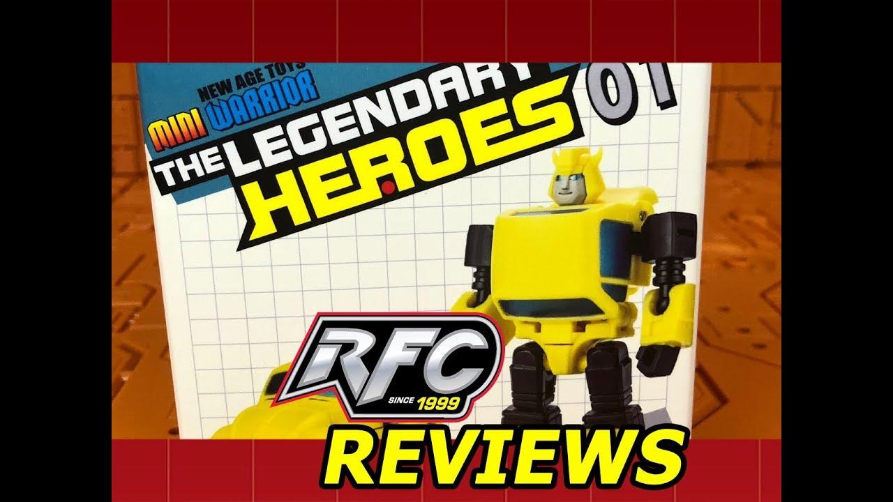 New NEWAGE Transformers Mini Warrior The Legendary Heroes 01 Flipper In Stock