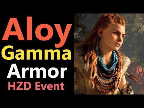 MHW: Aloy Gamma & Layered Armor | Horizon Zero Dawn Event Collaboration | PS4 thumbnail