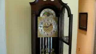 1951 Herschede 5-tube Grandfather Clock Westminster Chimes