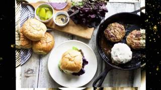 How to Cook Juicy Turkey Burgers in the Oven - easy turkey burger recipe