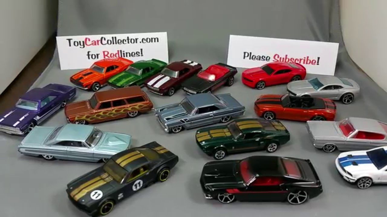 Hot Wheels Muscle Car Mania Part 2 January 22nd 2016 Youtube