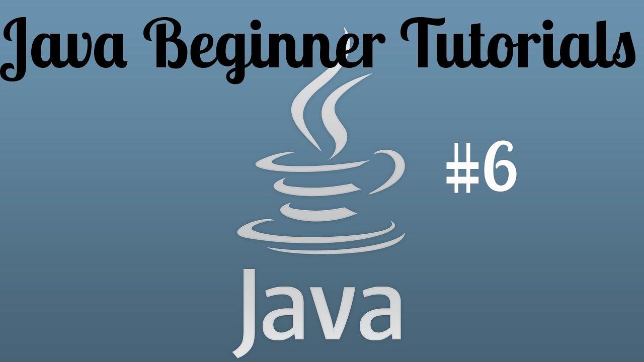 Java beginner programming tutorial 6 data types and more youtube java beginner programming tutorial 6 data types and more baditri Gallery