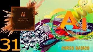 Adobe illustrator CC tutorial, cómo rellenar con malla, Curso Básico Español CS6 capitulo 31