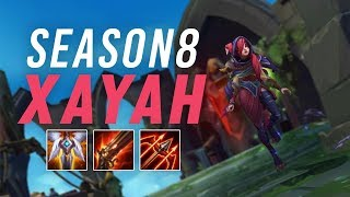 imaqtpie season 8 xayah she s still good i don t know why this is a question