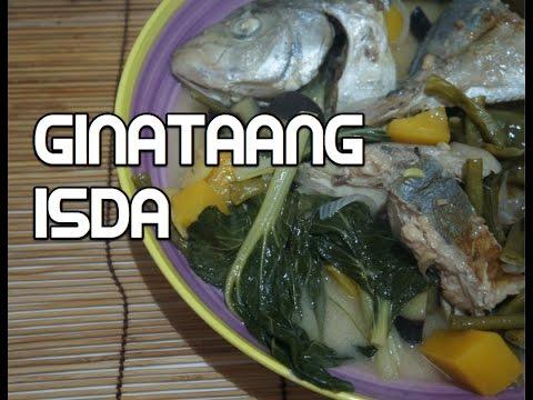 Paano magluto Ginataang Isda Recipe - Tagalog Filipino Fish
