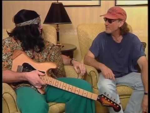 Roger Glover on Australian TV in 1999