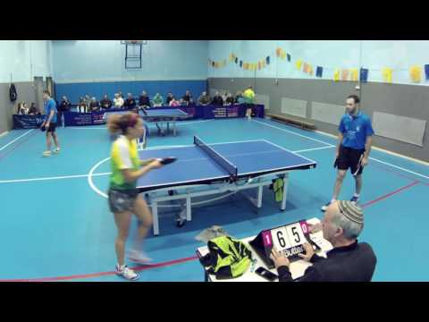 Table tennis game - Marina vs Omri