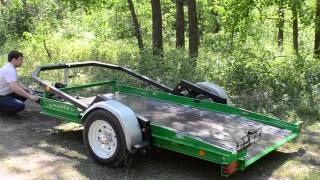 Прицеп для перевозки квадроциклов Quadro 3015(Оцените летние цвета от Tilt&Load Trailers!, 2014-05-23T12:13:02.000Z)