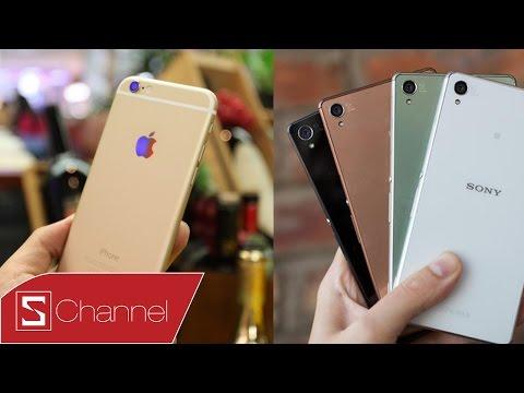 Schannel - iPhone 6 vs Xperia Z3 : chụp ảnh, quay film chống rung [auto]...