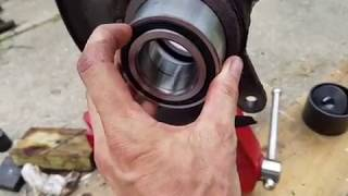 Front Wheel Bearing Replacement on 2001 Honda Civic