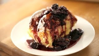 Beth's Baked French Toast With Cherry Compote