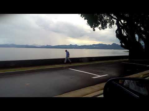 Suva sea wall Fiji