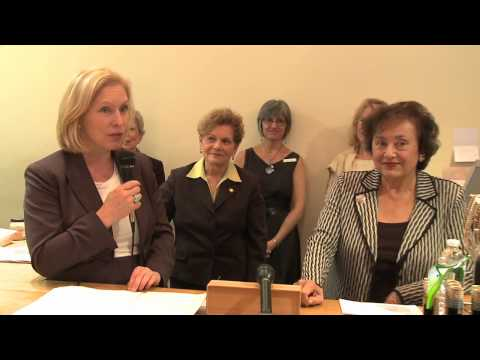 Feminomics Money Minute: Senator Kirsten Gilibrand - Success Act 2012 (S-3442)
