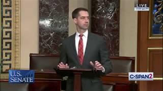 December 3, 2019: Senator Tom Cotton Speaks on the Senate Floor
