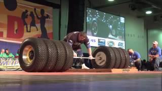 世界新記録デッドリフト1155ポンド!世界最強の男!!
