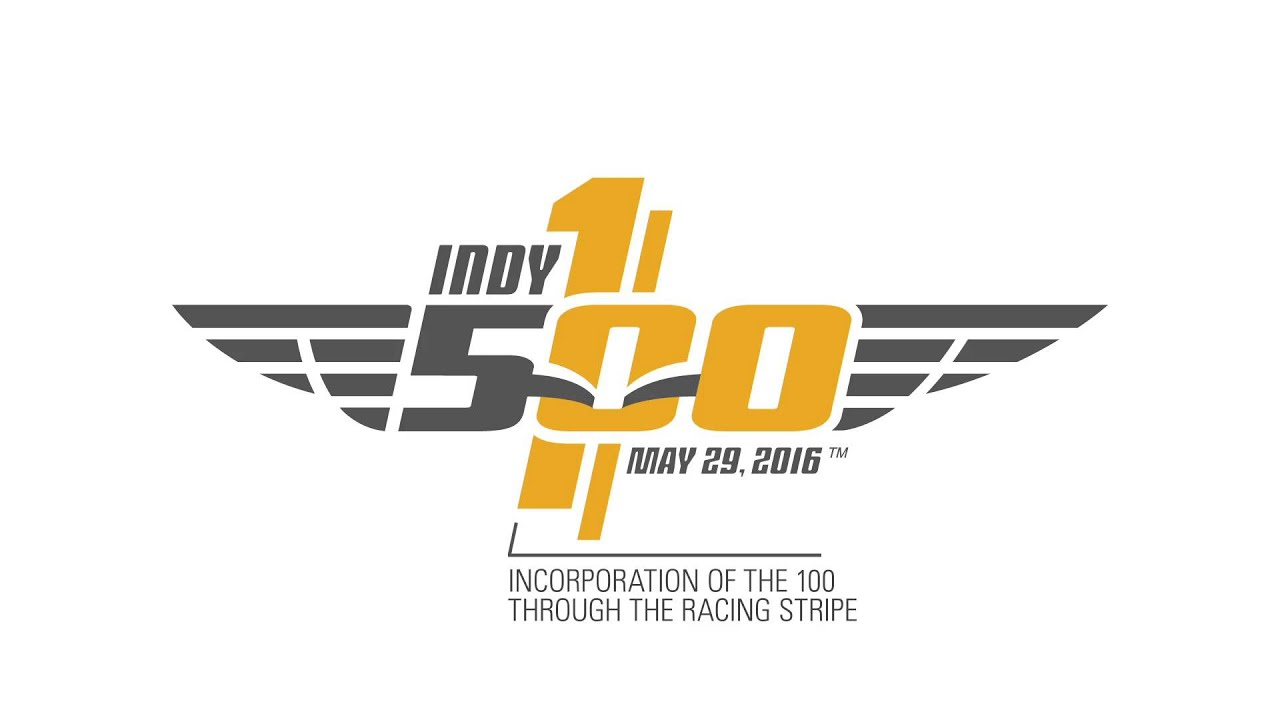understanding the 2016 100th running of the indianapolis 500 logo