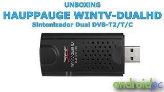 Unboxing: Hauppauge WinTV-dualHD con doble sintonizador DVB-T2