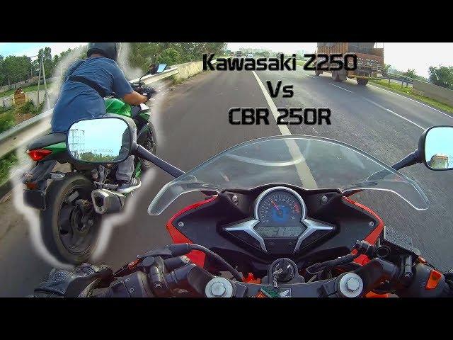 Kawasaki Ninja 250R VS Honda Cbr 250R top sd :) - TravelerBase ...