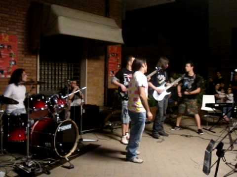 Iron Maiden-The Trooper band cover