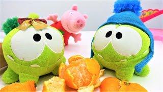 Видео с игрушками про Свинку Пеппу - АмНям влюбился