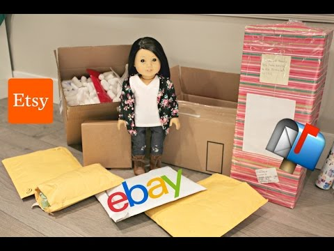 Opening HUGE American Girl Doll Mail HAUL | Esty & Ebay📬