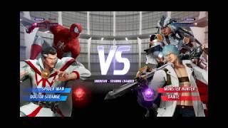 MVCI Casual Match NKSoul (Monster Hunter/Dante) vs Excanto (Spider-man/Dr. Strange) Set #3 out of 3