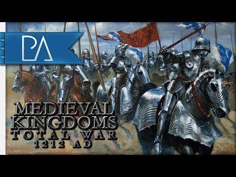 Medieval Kingdoms Total War 1212AD - France Campaign Part 1  - Live Stream
